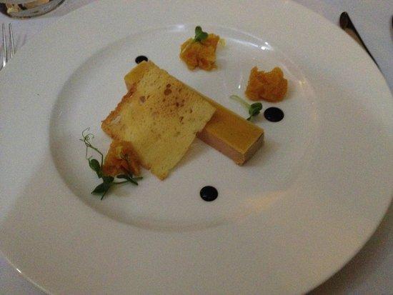 Esplanade Zagreb Hotel : foie gras / terrine of duck