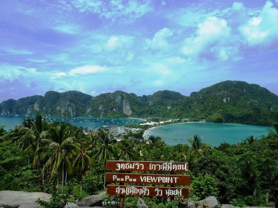 Phi Phi Islands: View point