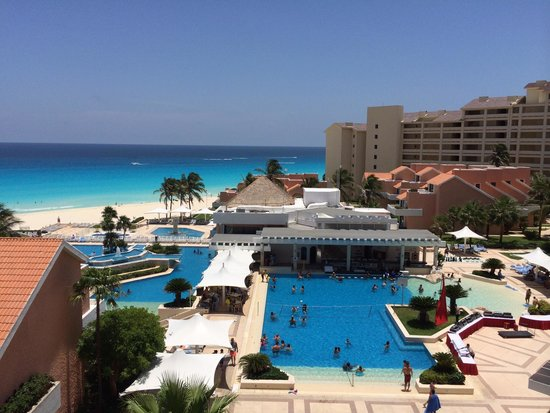 Omni Cancun Resort & Villas: View from our room
