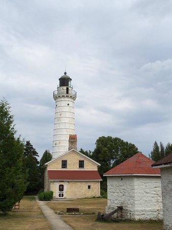 Cana Island Lighthouse: Cool lighthouse