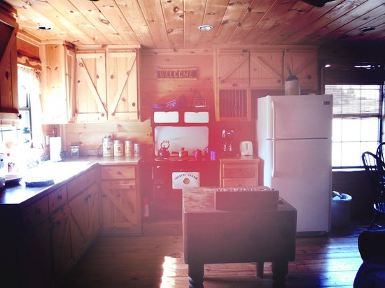 Pappy's Paradise Bed & Breakfast: The Cabin Kitchen