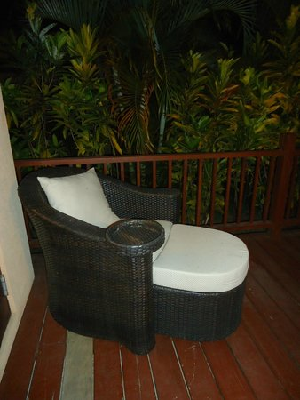 Buccament Bay Resort: deck