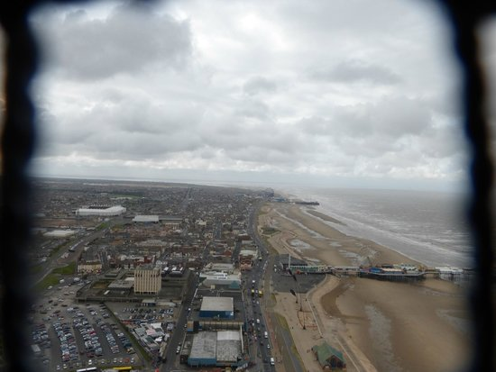 The Blackpool Tower: view from top