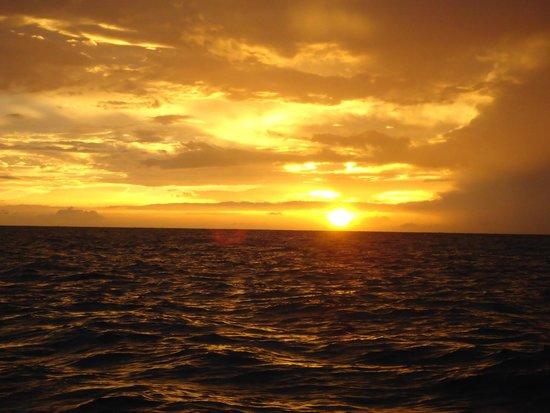 Buccament Bay Resort: sunset