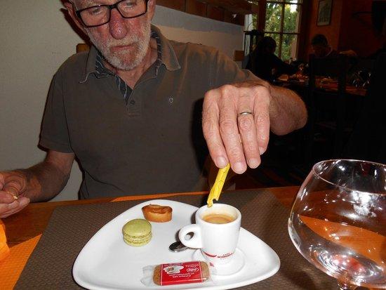 Restaurant de la Tour : Café gourmand