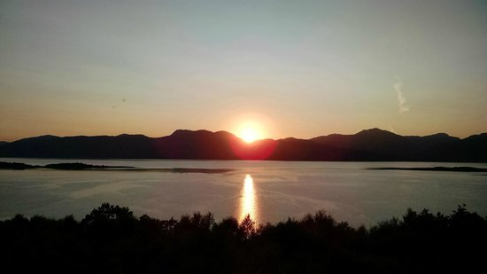 Highland Titles Nature Reserve: Gorgeous sunset view