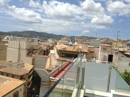 Almudaina Hotel: View from roof terrace