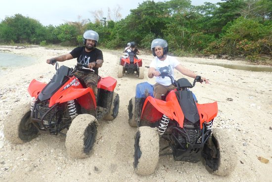 Jewel Dunn's River Beach Resort & Spa, Ocho Rios,Curio Collection by Hilton : ATV Ride Chukka