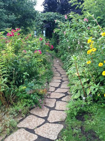 Gite Les Colibris B&B: Beaucoup de fleurs