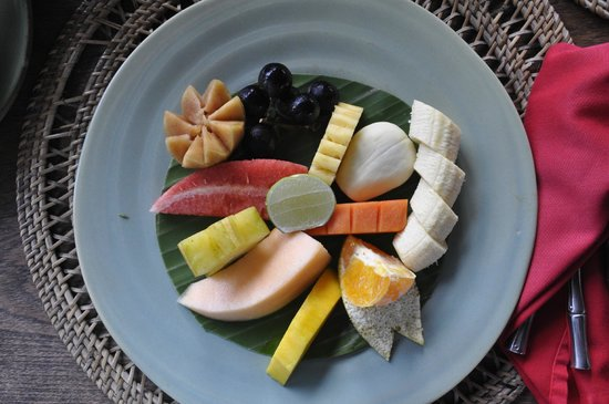 Hotel Tugu Lombok : Healthy breakfast