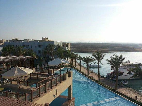Marina Lodge at Port Ghalib: Panorama dal viz del villaggio