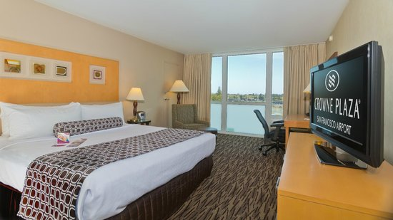 Crowne Plaza San Francisco Airport: Standard King Guest Room