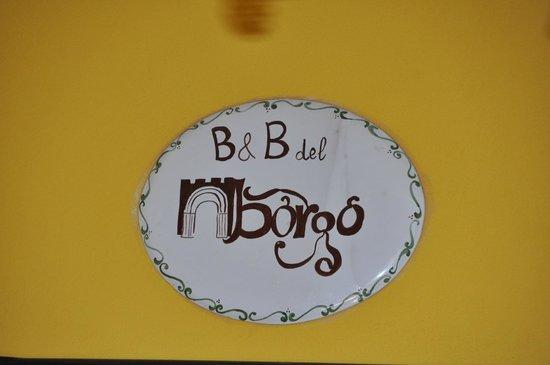 B&B del Borgo: 2