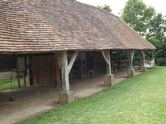Weald & Downland Open Air Museum: Brickwork's Display
