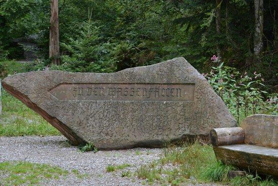 Oppenau, Alemanha: Wasserfälle in Allerheiligen im Schwarzwald