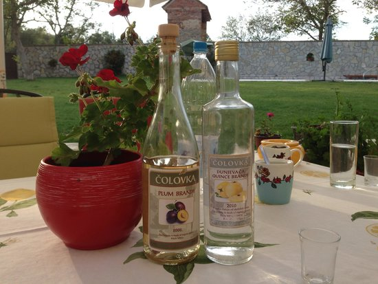 House of Colovic: Home made brandies