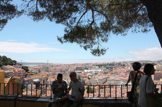 Miradouro da Graça : View of the city