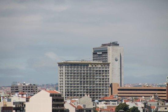 Miradouro da Graça : The Sheraton hotel seen from the Miradouro