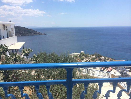 Hermes Hotel: Balcony view