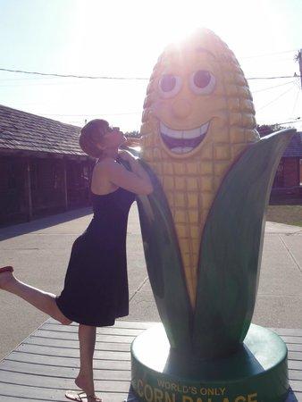 Corn Palace: Mr. Corn.