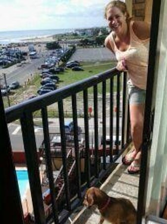 "Ocean Side Inn: She and Lady didn't mind the ""cramped quarters"""
