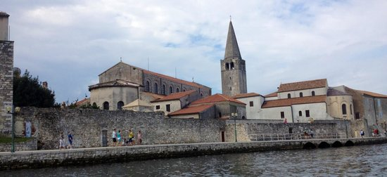 Porec Old Town: Old town from the sea