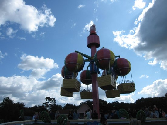 Paultons Park: Balloon Ride