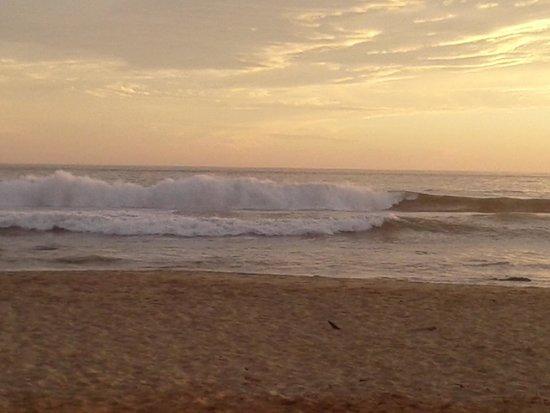 Casa de La Sirena: evening sunset