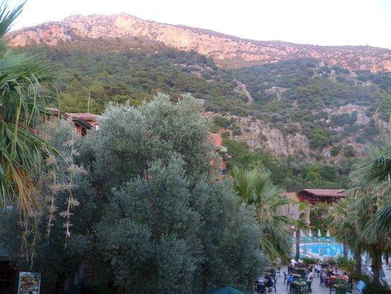 Suncity Hotel & Beach Club: Вид из номера на г. Бабадаг