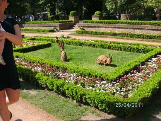 Antwerp Zoo (Dierentuin): tuin zoo met pasen 2011