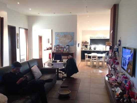 Ace Guesthouse : Salle commune