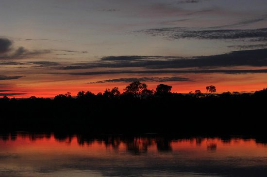 Juma Amazon Lodge: nascer do sol