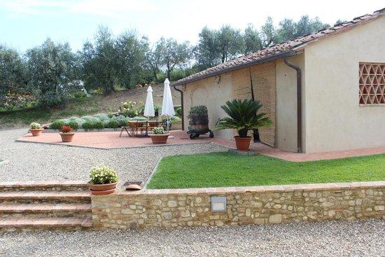 Montespertoli, Italia: Grounds