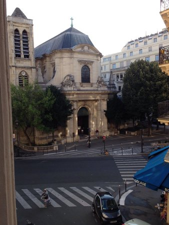 Agora Saint Germain: View from window