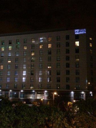 Hotel Primus Valencia : Desde el centro comercial Acqua
