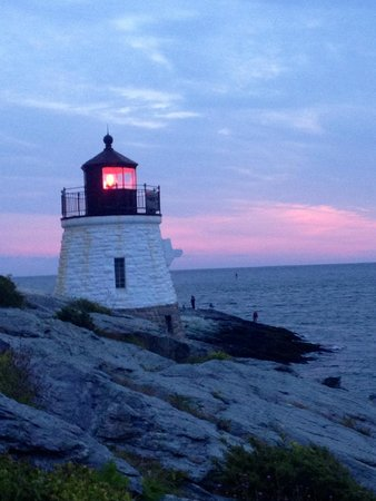 Castle Hill Lighthouse Sunset