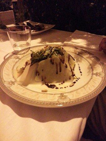 La Griglia: Tagliata con rucola e parmigiano, sublime!