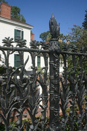 The Banning Museum: Cast Iron Cornstalk Fence circa 1858
