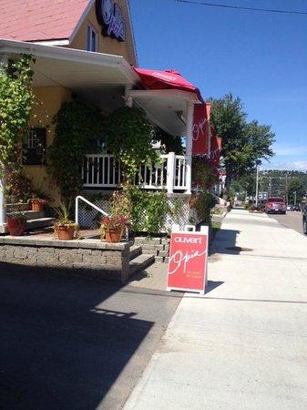 Restaurant Opia : vue extérieur du rsto