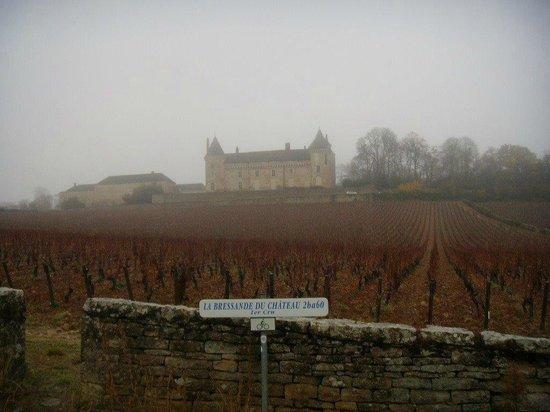 Chateau de Rully : Le chateau dans toute sa splendeur