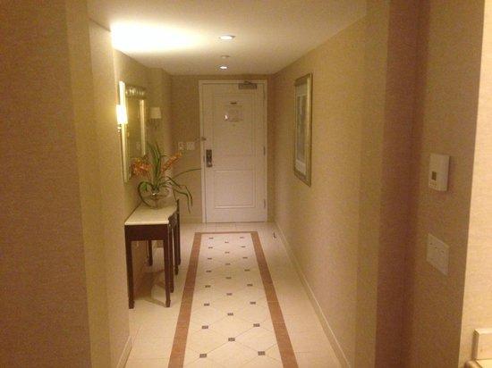 Harrah's New Orleans: Suite entry area