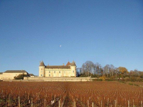 Chateau de Rully : Le chateau médieval