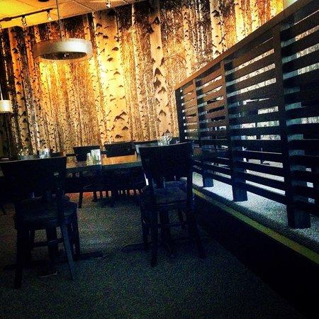 The Silver Birch : Main floor dinning room