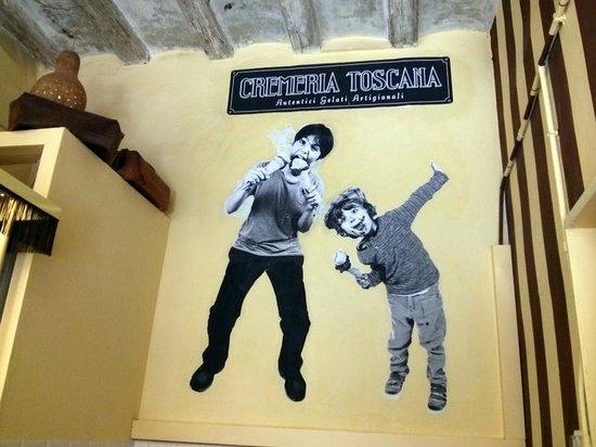 Cremeria Toscana : The boss's kids