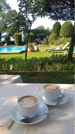 Torre di Bellosguardo : кофе