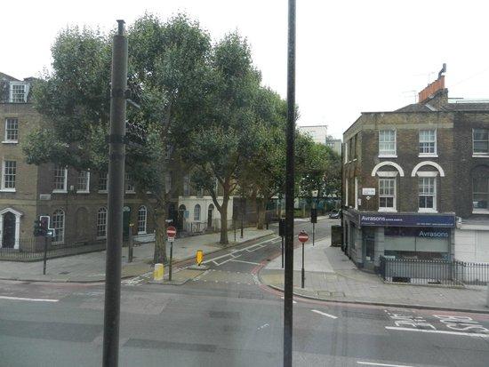 Point A Hotel, London Kings Cross St Pancras: Zona hotel