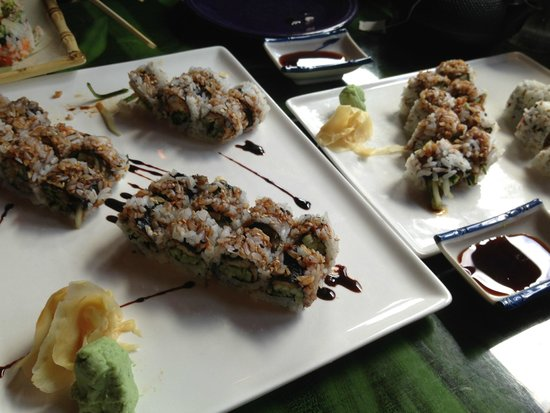Sushi Yoshi: Three different rolls looked the same and tasted the same – BAD