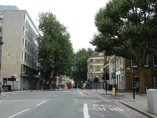 Point A Hotel, London Kings Cross: Zona hotel