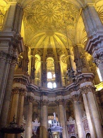 Iglesia de Los Martires: Volta sopra l'altare