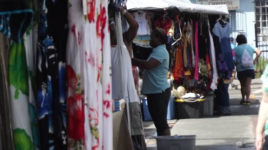 The St. Regis Bahia Beach Resort, Puerto Rico: St Thomas Outdoor Market